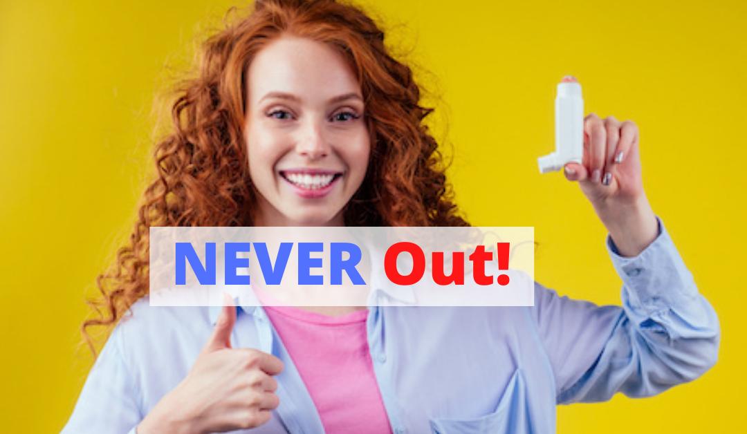 NEVER run Out of Asthma Inhaler Medicine!